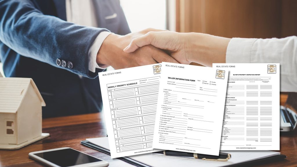 Real Estate Forms used by real estate agents